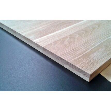 Ablakpárkány táblásított tölgyfa TM 30 mm 1750x150 mm A min. 0,26 m2/tábla kétrétegű