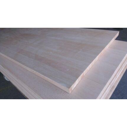 Konyhai munkalap táblásított bükkfa gőzölt TM 28 mm 1900x650 mm 1,23 m2 / 23 kg/tábla Toldás mentes