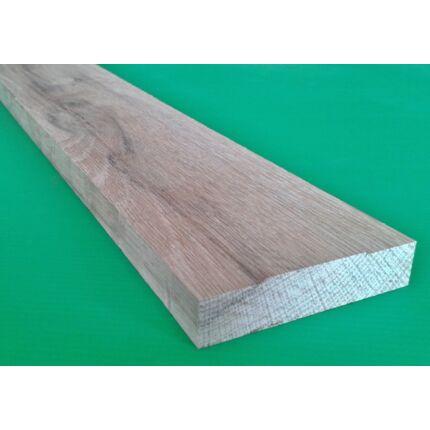 Küszöb tölgy  700x 75 mm 16 mm vastag X küszöbsín horony marással fa küszöb (piros szín)