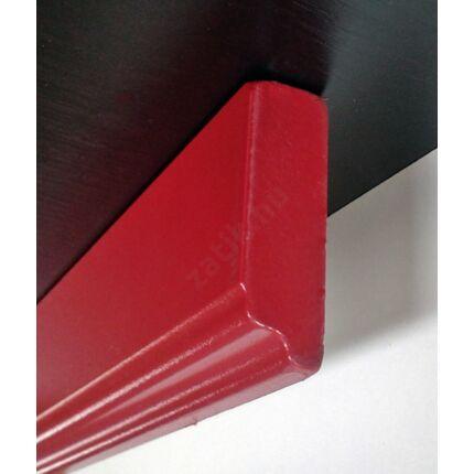 Bútordíszítő fényléc MDF  fóliás bordó szín 2070x60x18 mm  takaróléc 6.sz  akció