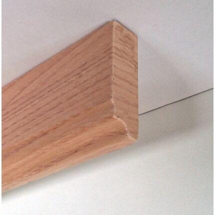 Bútordíszítő fényléc MDF  fóliás tölgy szín 2070x60x18 mm  takaróléc 14.sz.   akció