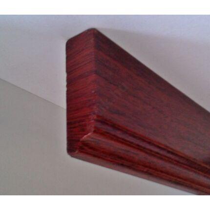 Bútordíszítő fényléc MDF  fóliás mahagóni szín 2070x60x18 mm  takaróléc 16.sz.  akció