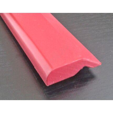 Bútordíszítő párkányléc MDF  fóliás Bordó szín 2070x60x18  koronaléc 3.sz. akció