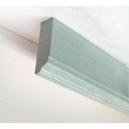 Bútordíszítő fényléc MDF  fóliás Kék Éger szín 2070x60x18 mm  takaróléc 18.sz.  akció