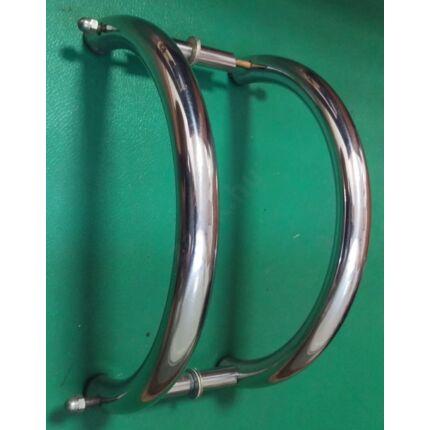 Ajtóhúzó fogantyú fix kilincs IVES 360 mm átm 32 mm INOX cső BONTOTT kilincs