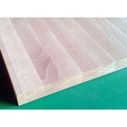 Konyhai munkalap táblásított bükkfa gőzölt TM 32 mm 1500x650 mm  A  min 0,97 m2/tábla toldás mentes