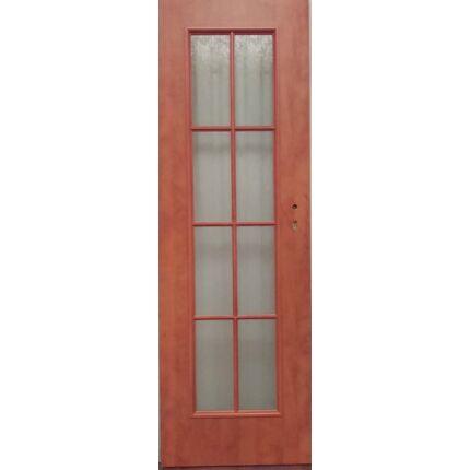 Beltéri ajtó dekorfóliás CLA BT12 X Calvados szín 75x210 8 üveges balos BT BLOKK TOKKAL szépséghibás