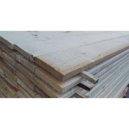 Fenyő fűrészáru  deszka 25x120x4000 mm Prémium építő szélezett