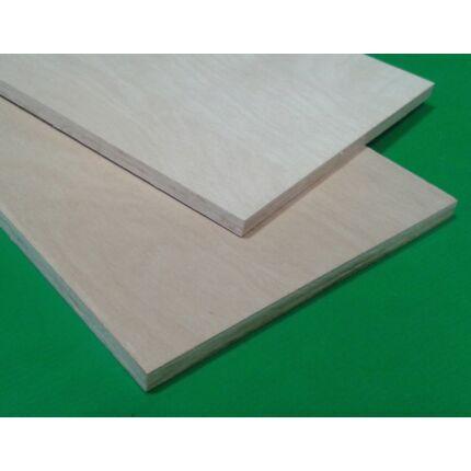 Lépcső homloklap gőzölt bükk rétegelt lemezből 800x200x15 mm 1 ...