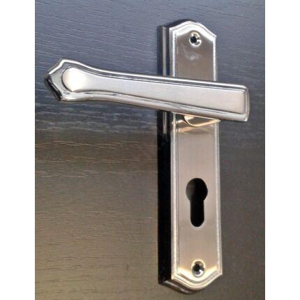 Bejárati ajtó kilincs PZ 50 krom színű GUSHILI 2.sz.