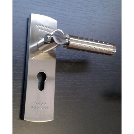 Bejárati ajtó kilincs PZ 50 krom színű GUSHILI 3.sz.