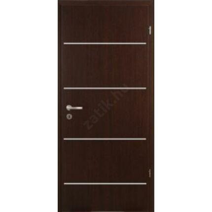 Beltéri ajtó dekorfóliás  Wenge szín 100x210x12 cm tele jobbos X MAS 407  A3  szépséghibás