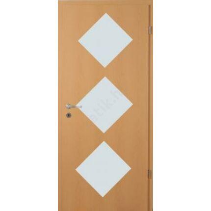 Beltéri ajtó dekorfóliás  Bükk szín  90x210x12 cm  jobbos üv D savmart XX  MAS 430 útólag szerelhetö