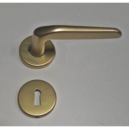 Beltéri ajtó kilincs rozettás BB F3 alumínium kilincs NYB HU++