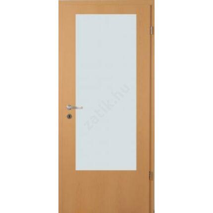 Beltéri ajtó dekorfóliás  Bükk szín  75x210x12 cm balos B fatörzs  MAS321 útólag szerelhető tokkal