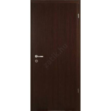 Beltéri ajtó dekorfóliás  Wenge szín  75x210x12 cm tele jobbos XX MAS 412  szépséghibás