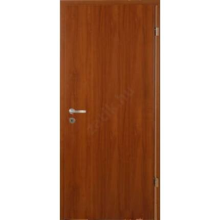 Beltéri ajtó dekorfóliás Dió szín 100x210x12 cm tele bal XT SÁ45 útólag szerelhető tokkal szépséghib