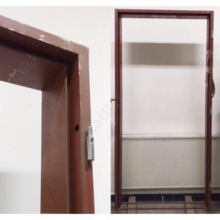 Ajtótok acél 100x205x12-14 cm JOBBOS - BALOS barna színű