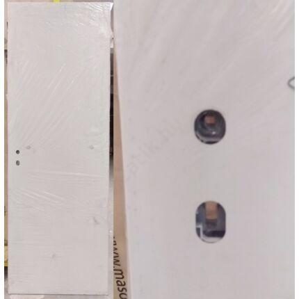 Bejárati ajtólap 735x2110 mm jobbos tele fehér alapmázolt