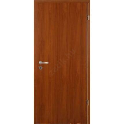 Beltéri ajtó dekorfóliás  dió szín  75x200x14 cm  tele jobbos EGYEDI MAS66 utólag szerelhető tokkal