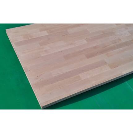 Konyhai munkalap táblásított égerfa HT 27 mm A min. 2500x600 mm 1,5 m2 / tábla