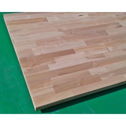 Konyhai munkalap táblásított égerfa HT 28 mm B min. 2250x600 mm 1,35 m2 / tábla