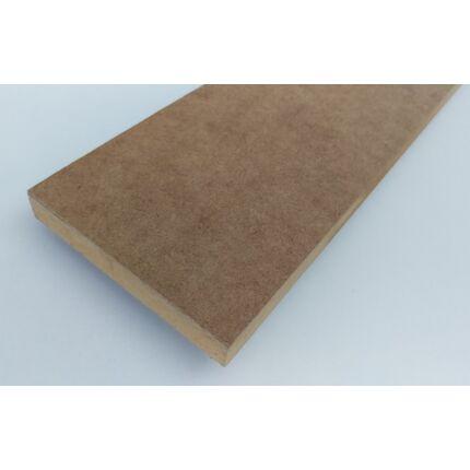 Polclap natúr farost MDF 1050x290 mm 16 mm vastag