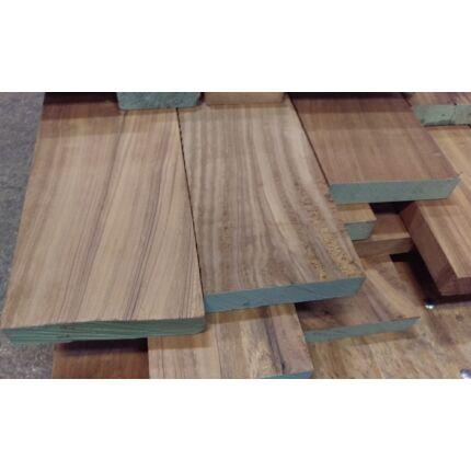 Dibetou fa fűrészáru hobbyfa 52 mm OF. 1000 mm alatt  Afrikai Dió szélezett szárított