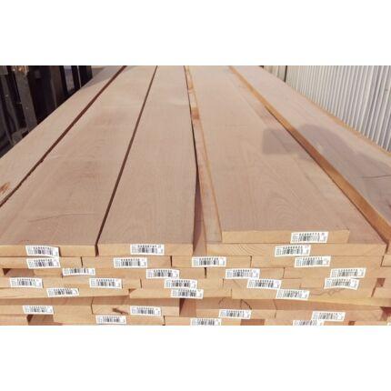 Gőzölt bükkfa fűrészáru 36 mm OF. 2450 mm SZÉLEZETT CSISZOLT SZÁRÍTOTT