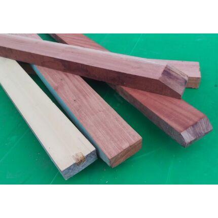 Egzóta trópusi vegyes fafajok  30-40x60-90x1000 mm moabi khaya abchi hobby fa