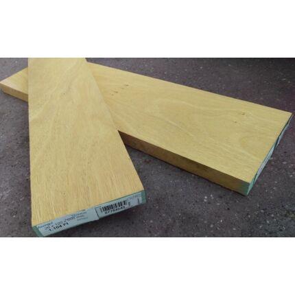 Movingui fa fűrészáru hobby fa 26 mm OF. 1000 mm alatt szárított szélezett Movingue
