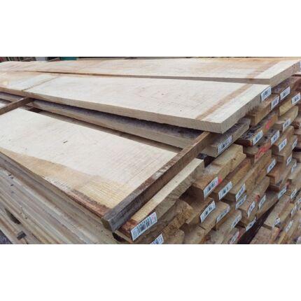 Tölgyfa fűrészáru 25 mm OF. 1 m felett SZÉLEZETT szárított osztályon felüli