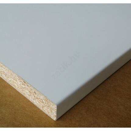 Konyhai munkalap laminált 1050x600x38 mm fehér fényes 1106 konyhapult 323. sz