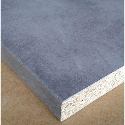 Konyhai munkalap laminált  750x600x28 mm Beton Art 37905  392. sz