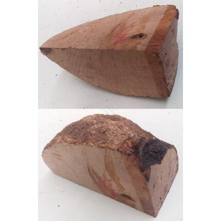 Rózsafa gyökér cse csen 220x80x100 mm 4. sz  1,73 kg Caribian Rose wood burl