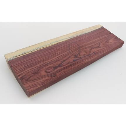 Kingwood királyfa hobby fa 27x110x450 mm 2. sz