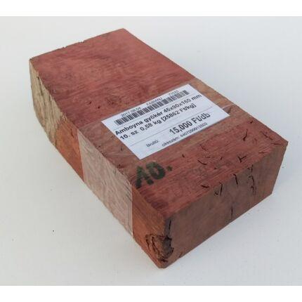 Amboyna gyökér 45x90x160 mm 10. sz  0,58 kg
