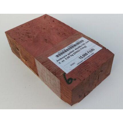 Amboyna gyökér 45x90x160 mm 6. sz  0,58 kg