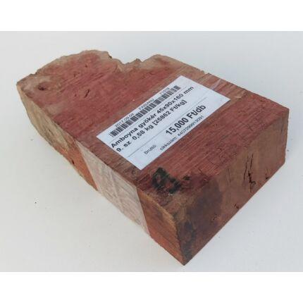 Amboyna gyökér 45x90x160 mm 9. sz  0,58 kg