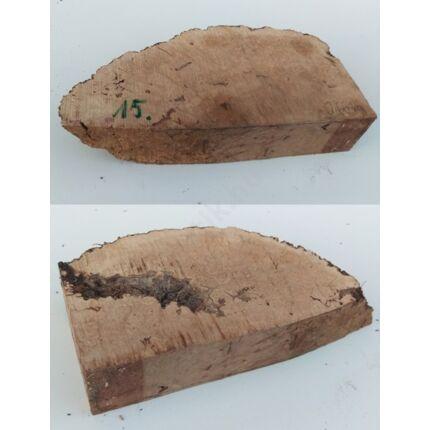 Rózsafa gyökér cse csen 45x110x220 mm 15. sz  0,66 kg Caribian Rose wood burl