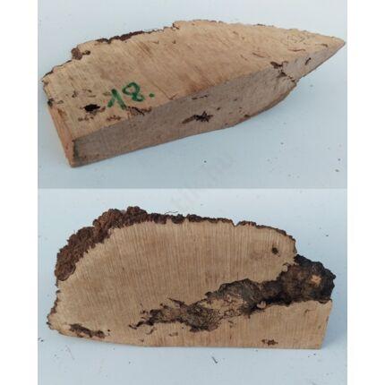Rózsafa gyökér cse csen 40x 90x220 mm 18. sz  0,32 kg Caribian Rose wood burl