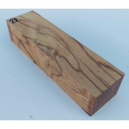 Márványfa hobby fa  40x50x195 mm  22. sz Marblewood