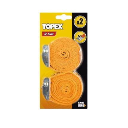 Rakományrögzítő Topex 97X183 2,5M/2DB