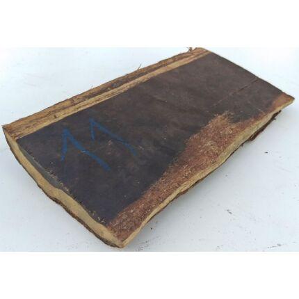Ébenfa darab hobby fa 20x120x290 mm  11.sz. Ebony szélanyag