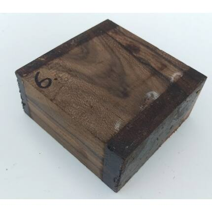 Ziricote hobby fa  50x 110x115 mm  6. sz