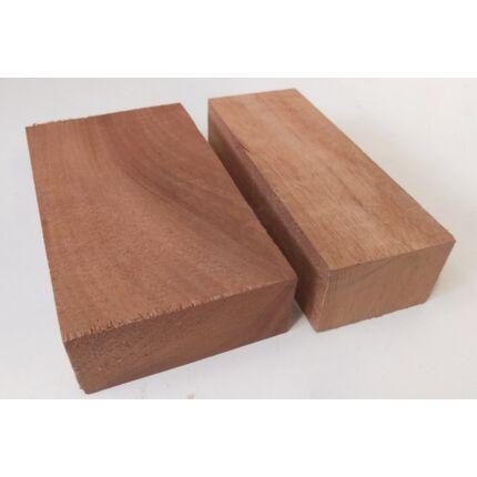 Khaya mahagóni hobbyfa 50x 30-50x150 mm darabok