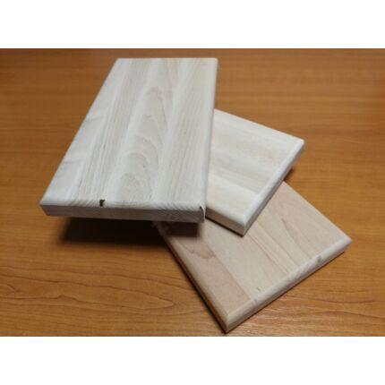 Konyhai vágódeszka bükkfa 260-320x210-280x28-35 mm mart éllel