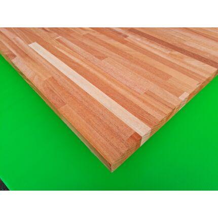 Konyhai munkalap táblásított mahagóni fa KHAYA HT 28 mm 1750x650 mm  1,13 m2 / tábla TRO ZA  HU++