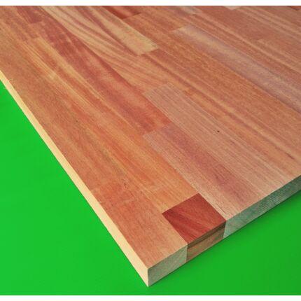 Konyhai munkalap táblásított mahagóni fa KHAYA HT 30 mm 1490x650 mm  0,975 m2 / tábla TRO ZA  HU++