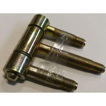 Becsavarós pánt átm. 16 mm statikus ajtópánt horganyzott pipapánt